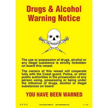125.238 Drugs & Alcohol Warning