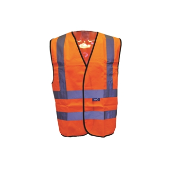 Trafikvest EN 20471 klasse 2 orange