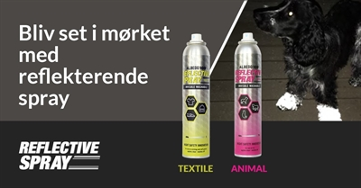 Albedo100 ANIMAL og TEXTILE refleksspray