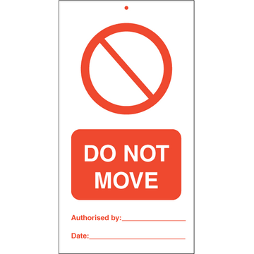 Do not move (pk. á 10 stk.)