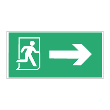 EXIT arrow right - Low location light system