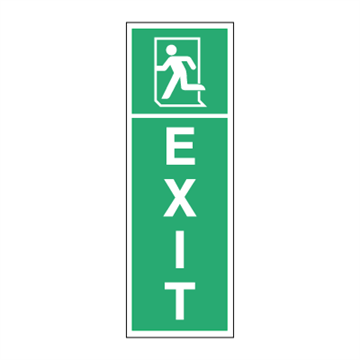EXIT left - Low location light system
