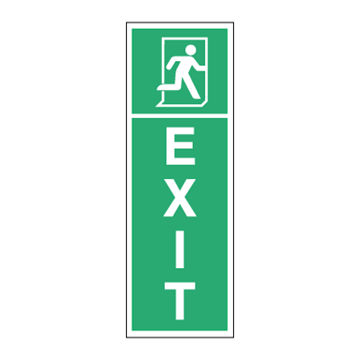EXIT right - Low location light system