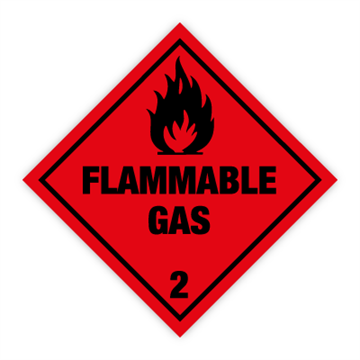 Flammable Gas - Faresedler kl 2