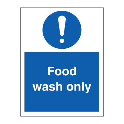 Food Wash Only