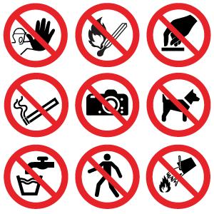regler for skiltning