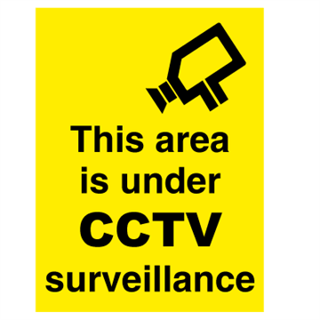 This area is under CCTV