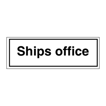 Ships office - ISPS Code Signs